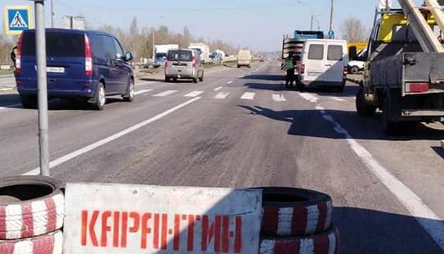 На дорогах Херсонщини встановили стаціонарні карантинні пости