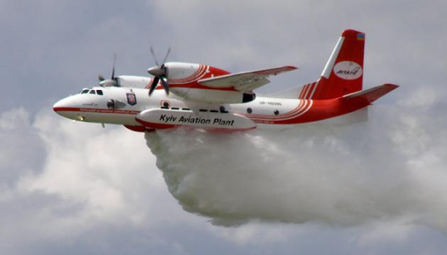 У Чорнобильській зоні досі гасять лісову пожежу
