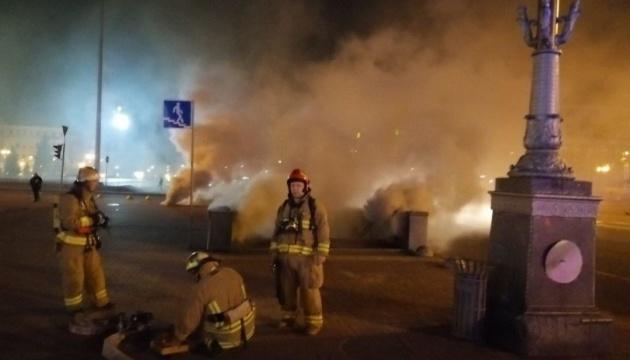 Рятувальники локалізували пожежу на Хрещатику