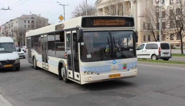 У Запоріжжі громадський транспорт працюватиме попри карантин