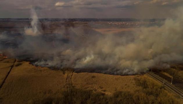 За добу в екосистемах України сталося 511 пожеж