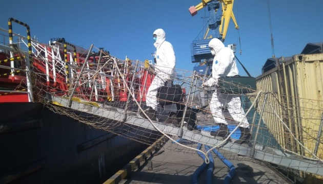 У торговельних портах України тривають заходи безпеки у зв'язку з коронавірусом