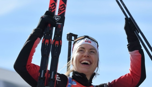 Норвежская биатлонистка Сулемдаль закончила карьеру