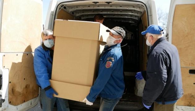 «Колос» передал в больницу в Белой Церкви три аппарата ИВЛ