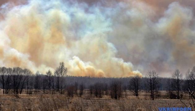 Правительственное агентство опровергает, что в Чернобыле горят жилые дома