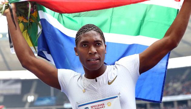 Дворазова олімпійська чемпіонка з бігу Семеня лідирує у челенджі Роналду