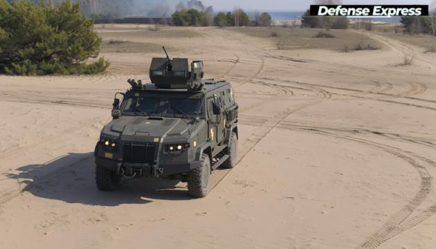 Pojazd pancerny Kozak-2M1 trafił do uzbrojenia armii ukraińskiej
