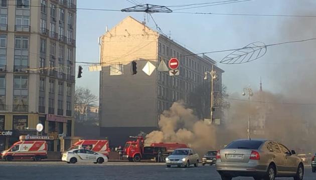 Пожежа на Хрещатику: Кличко пояснив, чому поки не проводять роботи у