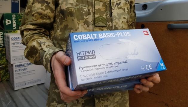 Міжнародна організація з міграції передала ДПСУ засоби захисту від Covid-19