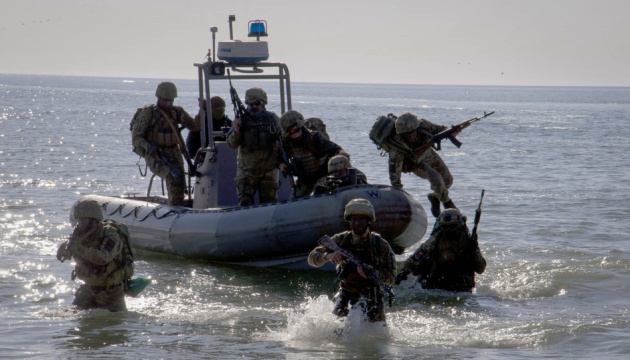Морские пехотинцы на Одесчине тренировались захватывать побережье