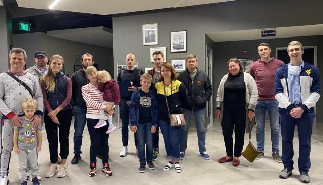 Групу українців евакуювали із США чартером авіакосмічної компанії