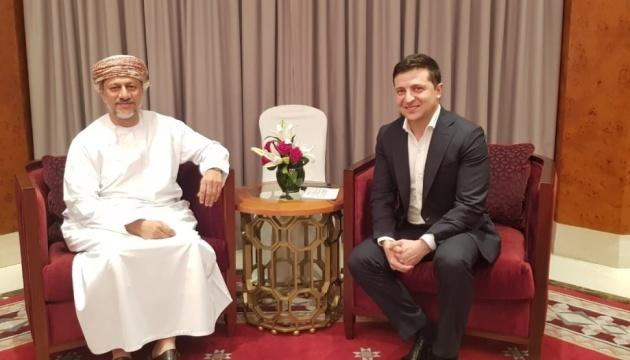 Поездку Зеленского в Оман полностью оплатила его жена – Банковая