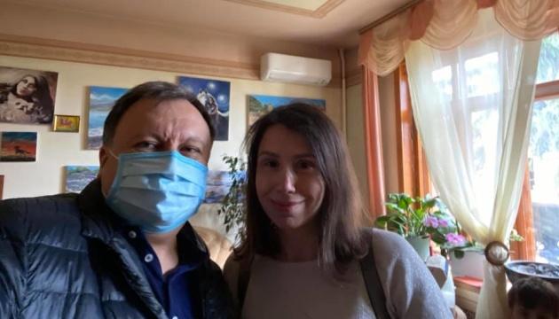 Во время обыска у Чорновол забрали куртку и шлем с Майдана - Княжицкий