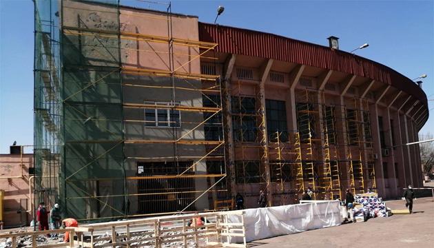 У Кривому Розі розпочали реконструкцію стадіону