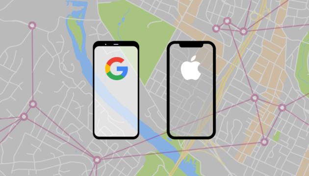 Apple та Google через Bluetooth відстежуватимуть контакти хворих на коронавірус