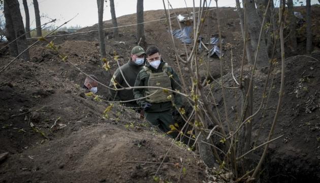 Зеленский посетил участок разведения в Петровском
