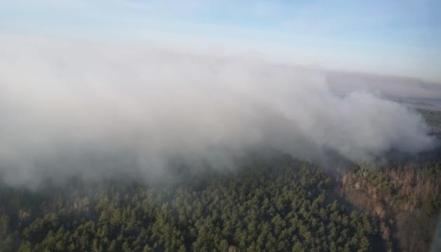 Пожежі у Чорнобильській зоні: МВС озвучило радіаційний фон у Києві та області
