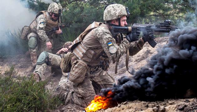 На Донбассе боец ВСУ получил осколочное ранение