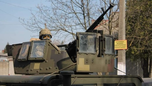 Na Ukrainie rozpoczęły się wojskowe ćwiczenia taktyczne