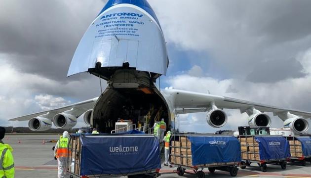 世界最大輸送機「ムリーヤ」、中国からポーランドへ医療関係品輸送