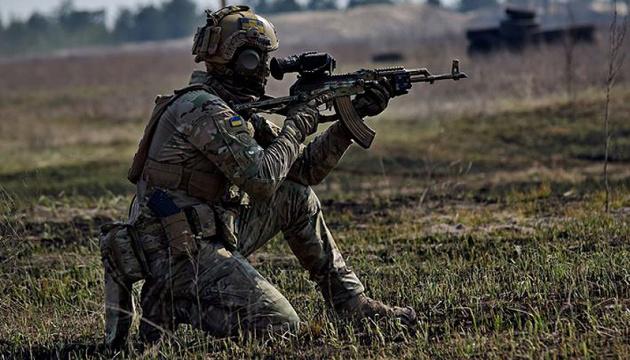 W Donbasie okupanci strzelali z systemów artyleryjskich kalibru 152 mm i 122 mm – strat nie odnotowano