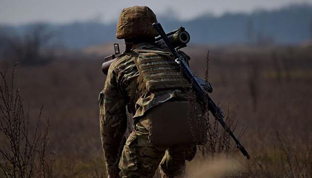 Окупанти обстріляли з кулемета позиції ЗСУ під Мар'їнкою