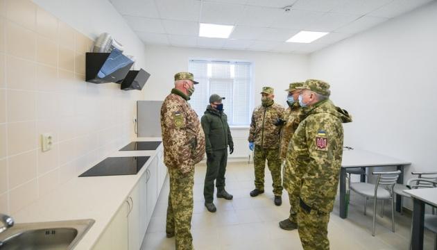 Zelensky examina la construcción de una ciudad militar en la región de Transcarpatia