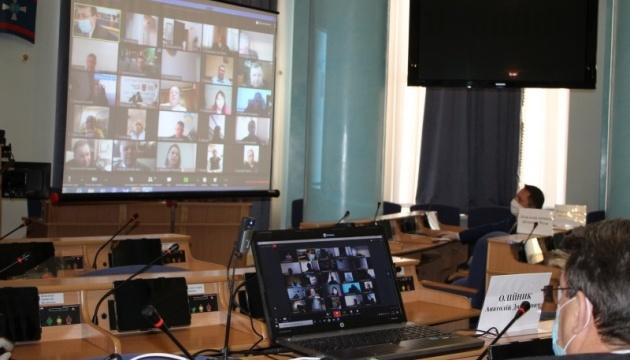 Вінницька облрада узаконила проведення сесій  у режимі  відеоконференцій