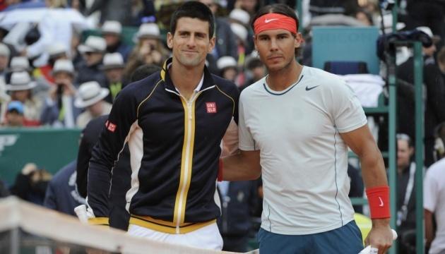 Джокович, Надаль и Федерар помогут теннисистам нижней части рейтинга