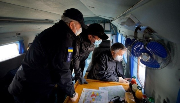 МВС розглядає дві версії виникнення пожеж на Житомирщині