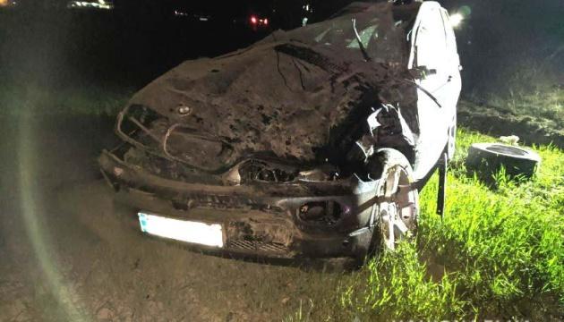На Рівненщині у ДТП постраждали двоє поліцейських