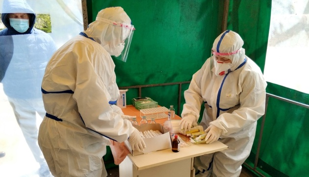 9月3日時点 ウクライナ国内新型コロナ感染新規確認2430件