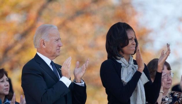 Байден заявив, що взяв би Мішель Обаму віце-президентом
