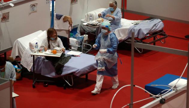 В Іспанії другу добу фіксують лише один летальний випадок від COVID-19