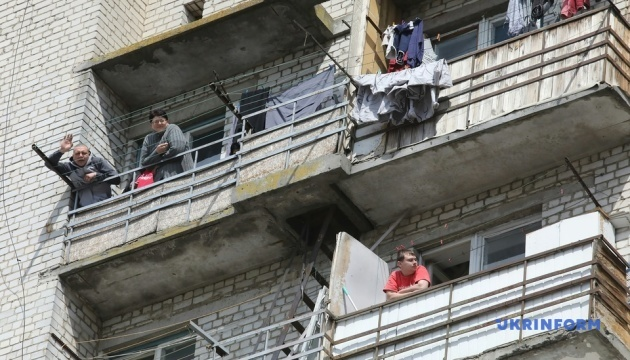 Гуртожиток у Вишневому досі закритий: із двох сотень мешканців - 21 хворий