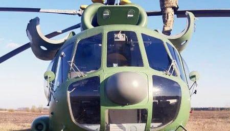 Військовий вертоліт здійснив вимушену посадку на Київщині – Генштаб