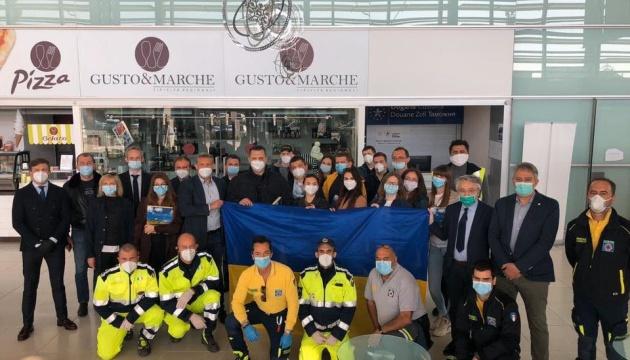 Des médecins ukrainiens sont revenus d'Italie