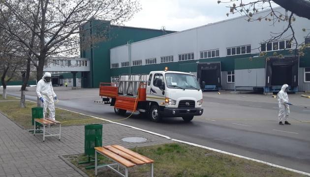 Автозавод у Черкасах презентував спеціалізований автомобіль для дезінфекції