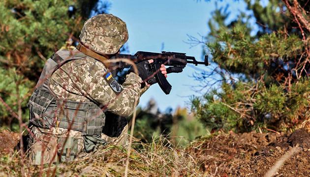 Окупанти 12 разів зривали «тишу», били із заборонених калібрів