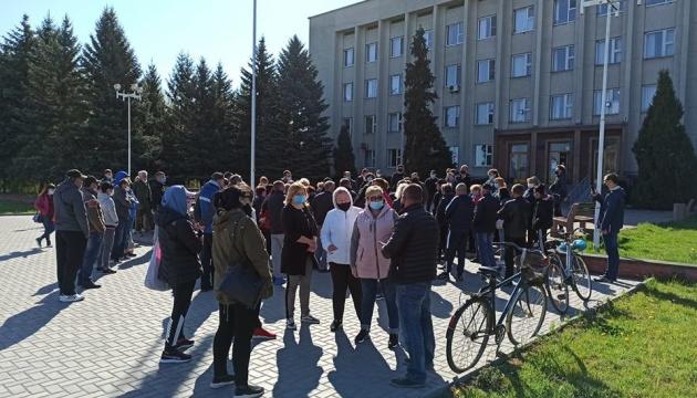 На Вінниччині підприємці влаштували попереджувальну акцію через карантин