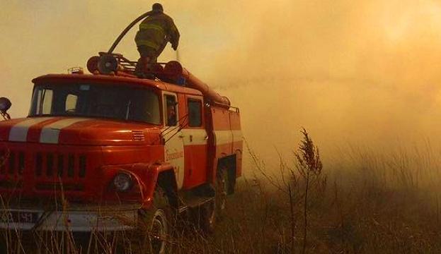 Під Чорнобилем гасять кілька осередків тління торф'яників