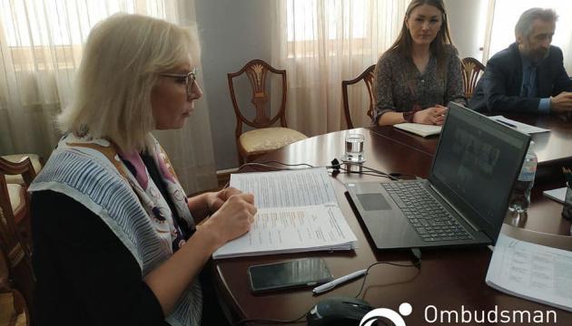Денисова провела онлайн-встречу с родственниками 26 крымских узников Кремля