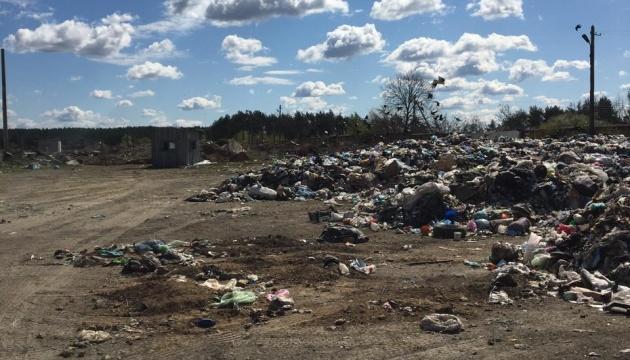 На Житомирщині знайшли понад 100 тонн львівського сміття