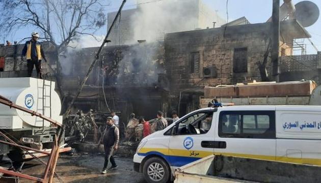 В Сирии на рынке взорвалась бомба, 46 погибших