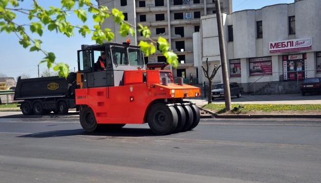 В Бердичеве ремонтируют две городские дороги