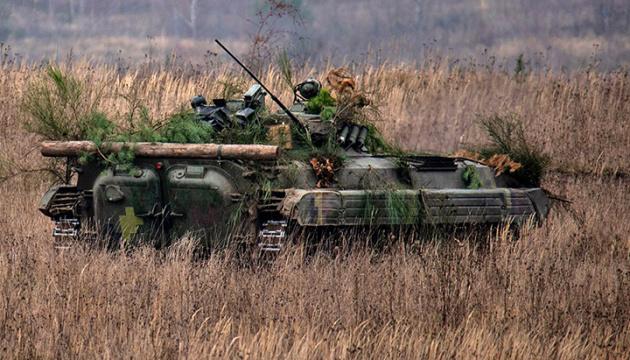 Окупанти шість разів обстріляли позиції ЗСУ, один боєць поранений