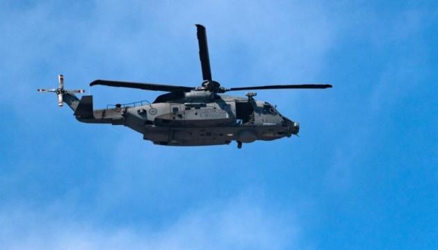 В Іонічному морі знайшли уламки гелікоптера, що зник під час навчань НАТО