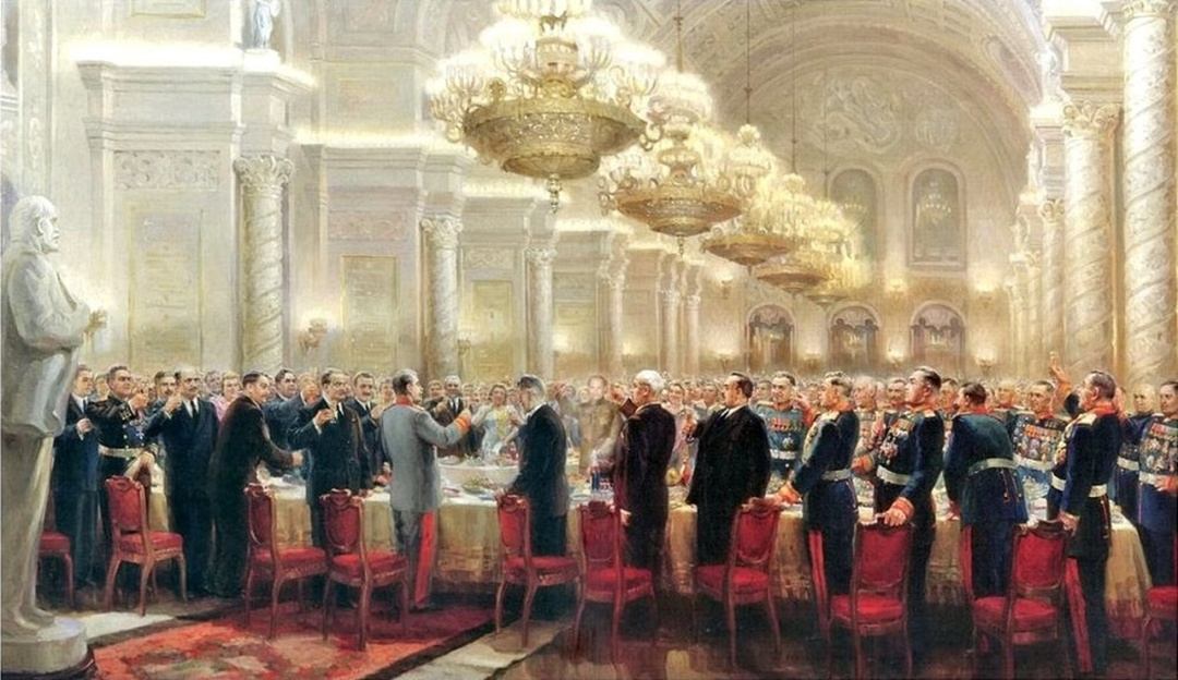 Подію увічнив український художник Михайло Хмелько