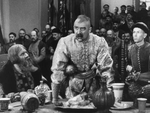 У ролі Хмельницького Микола Мордвинов