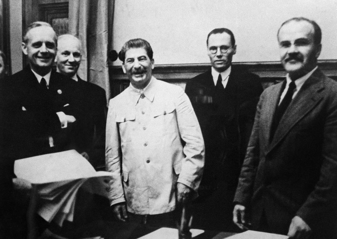 Підписання пакту Молотова-Ріббентропа